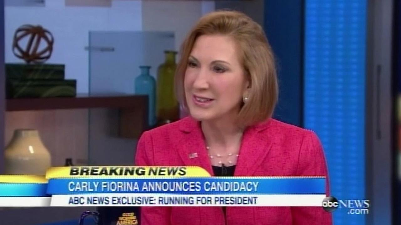 Carly Fiorina on ABCs GMA