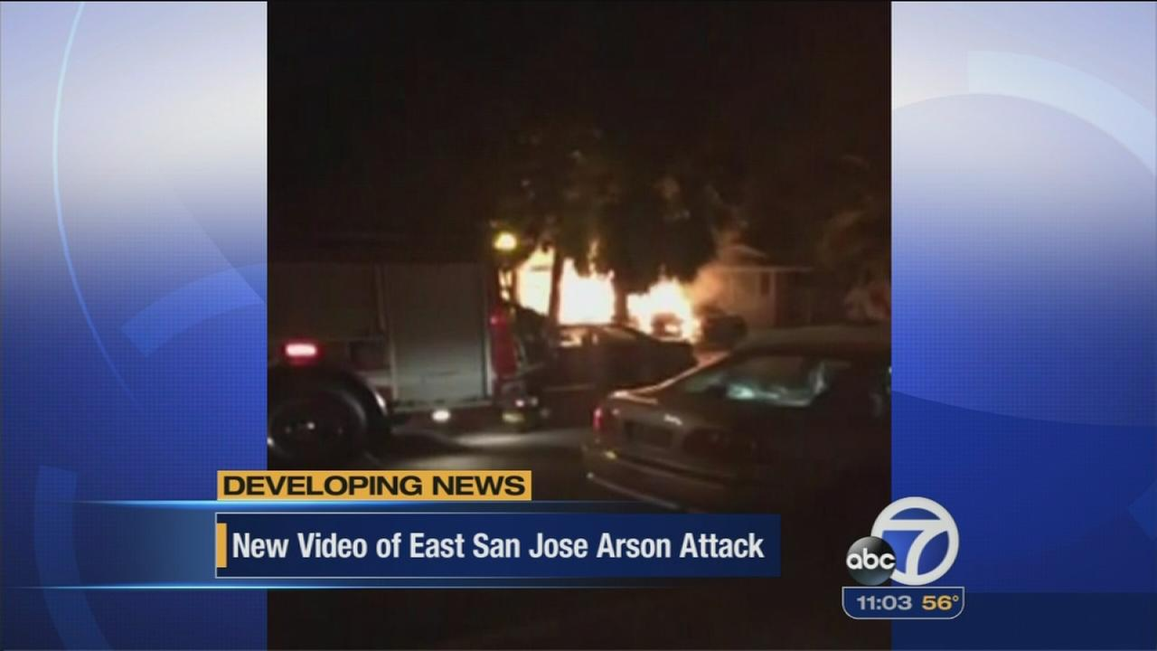 San Jose residents worried arson could be racially motivated