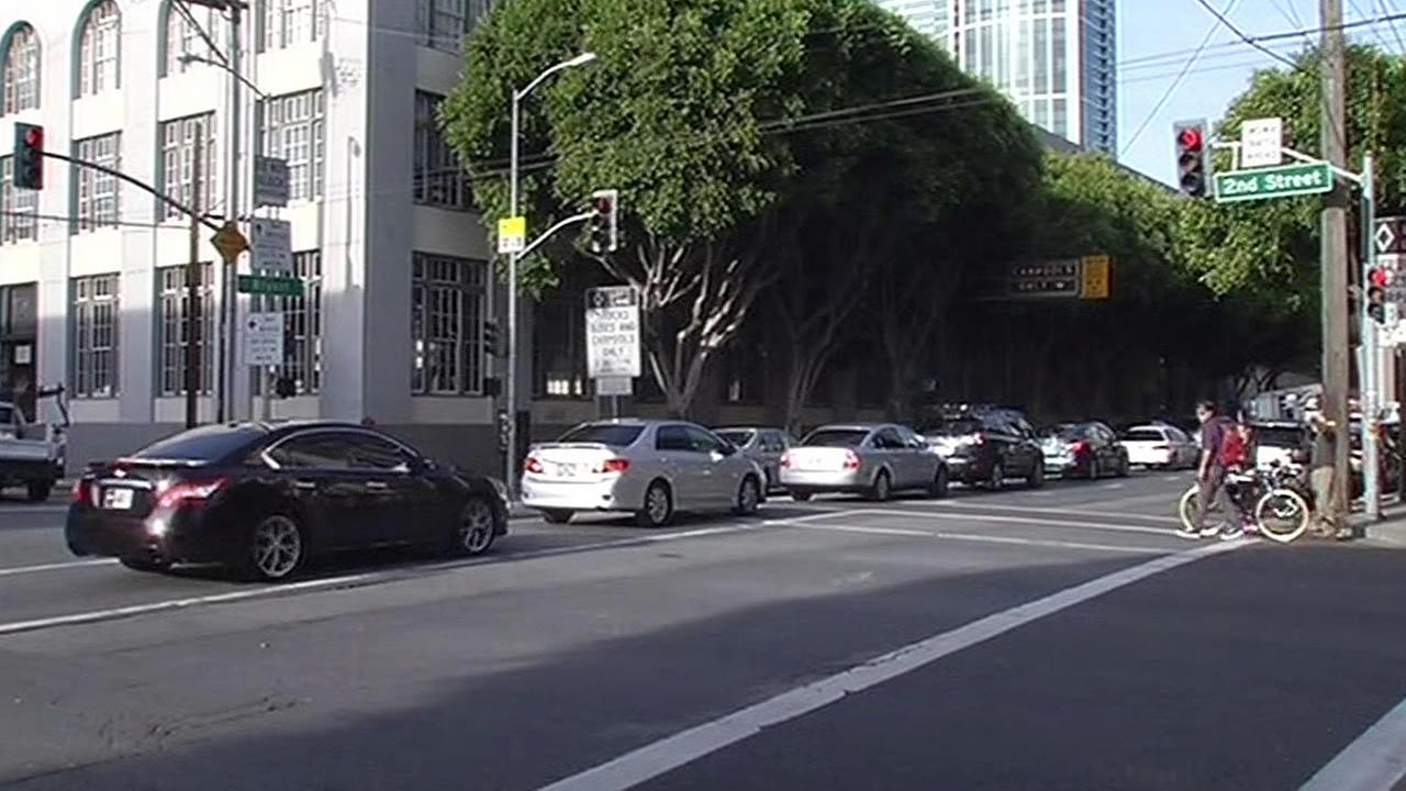 traffic congestion in San Francisco