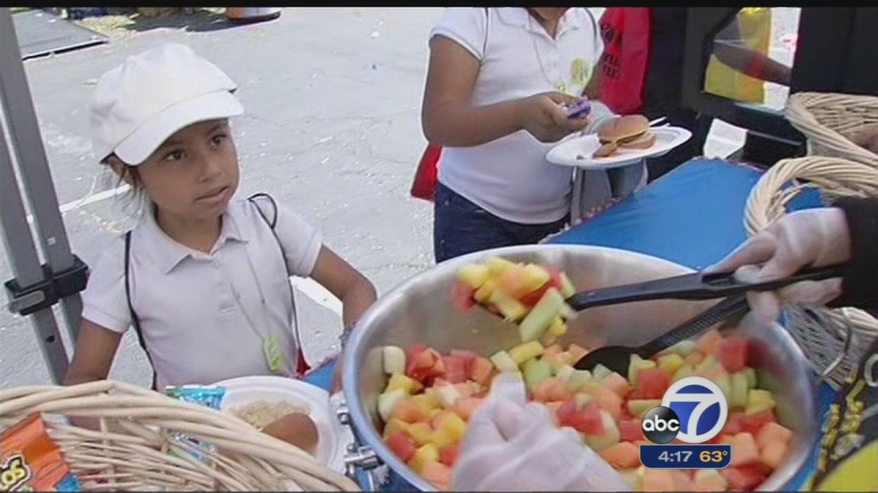 School festival introduces kids to healthy choices