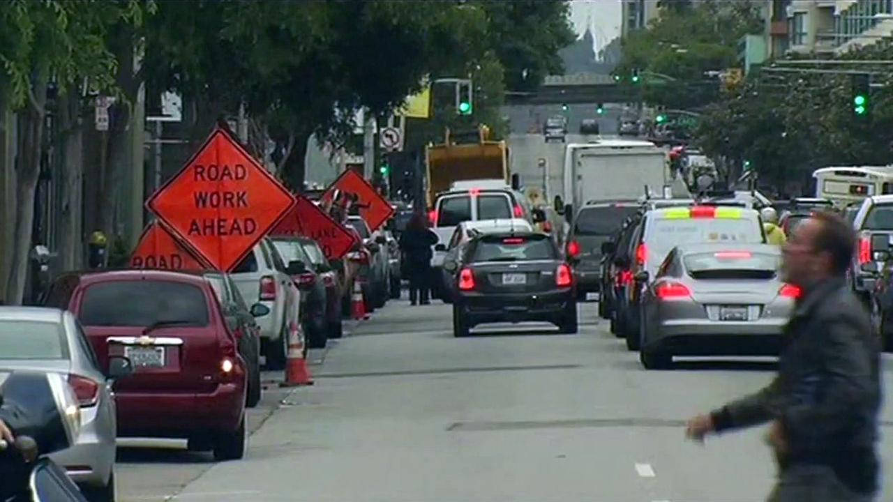Traffic being diverted in San Francisco