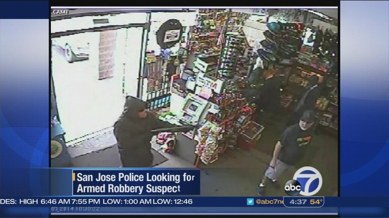 San Jose police looking for armed robbery suspect