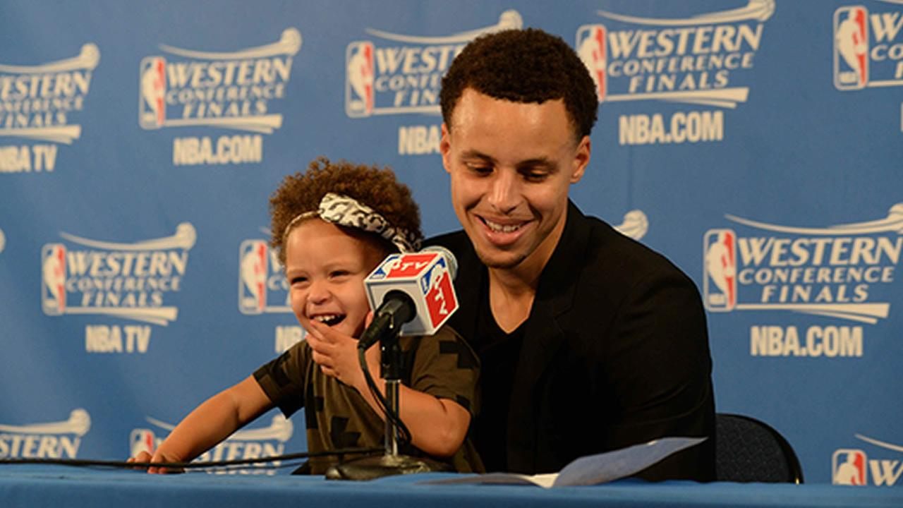 Steph Currys daughter Riley Curry