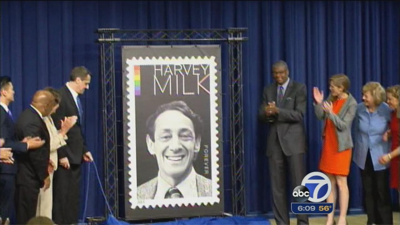 Activist Harvey Milk honored in SF, Washington DC