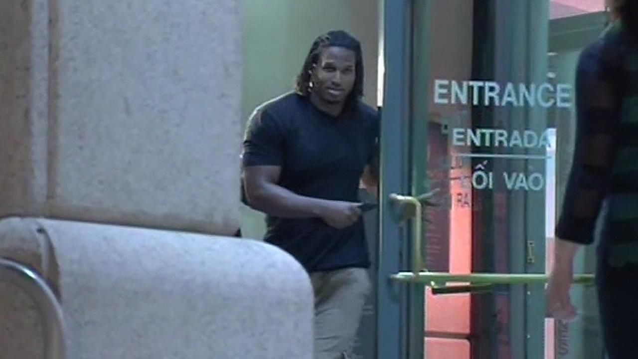 Ray McDonald walks out of jail on May 27