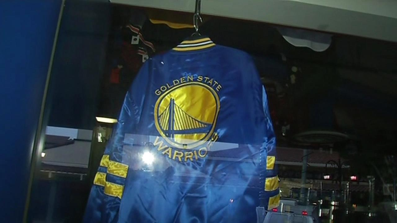 Golden State Warriors gear is in big demand as team makes it to the NBA Finals.