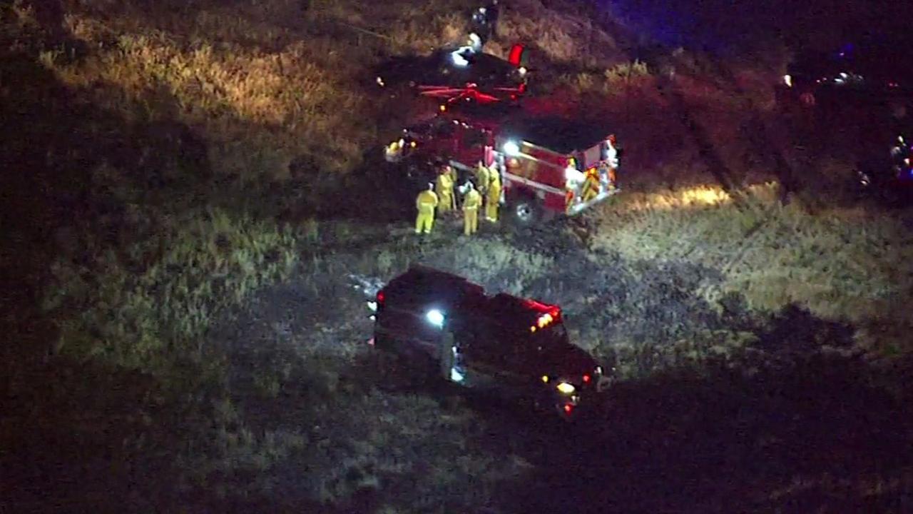 Plane crash near Livermore Airport.