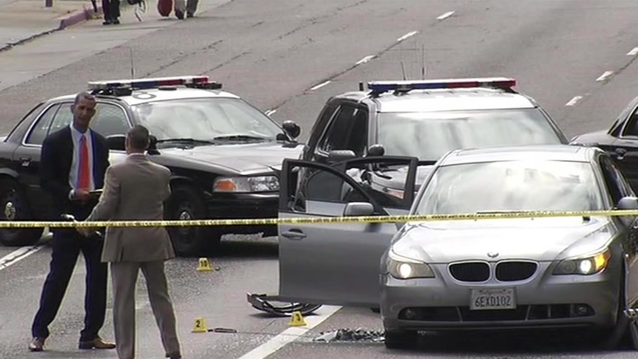 Police are investigating a fatal officer-involved shooting that occurred in Oakland on Saturday, June 6, 2015.