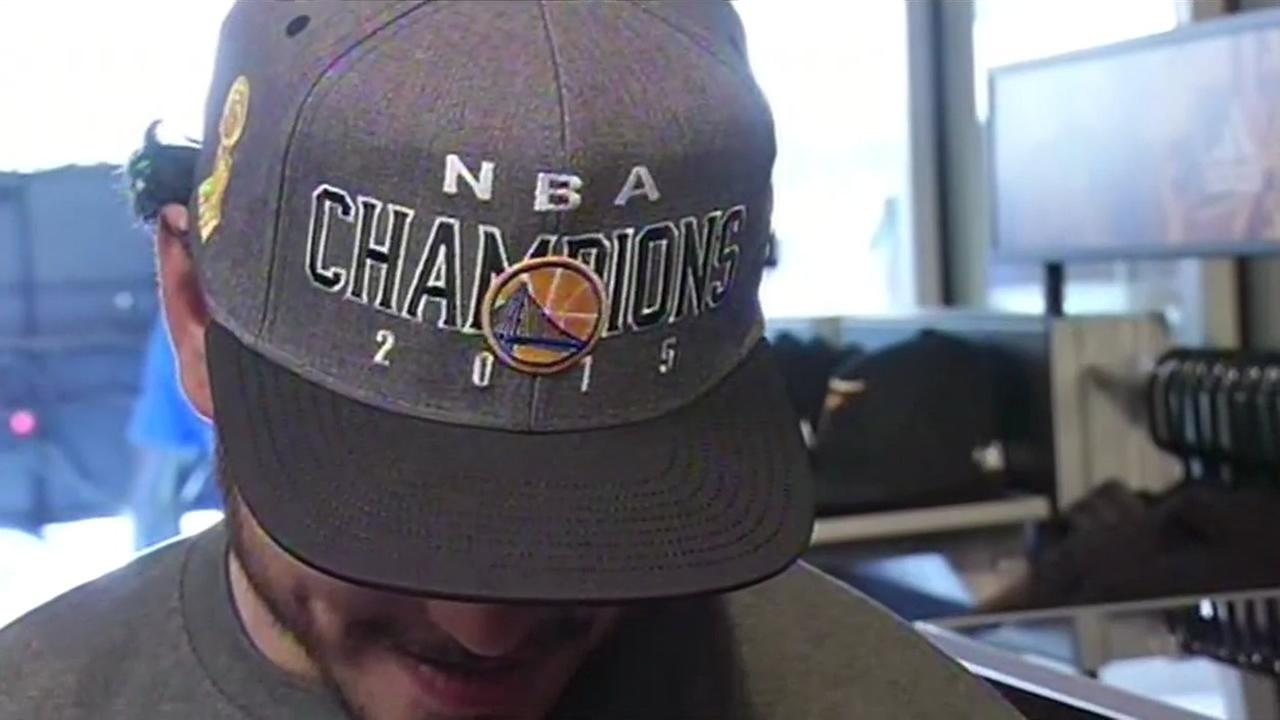 Warriors NBA Championship hat