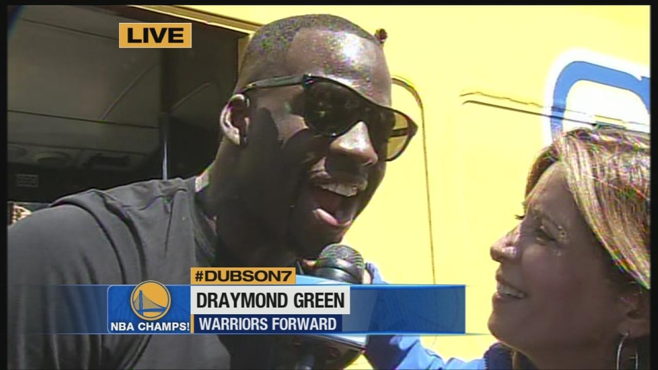 RAW VIDEO Draymond Green