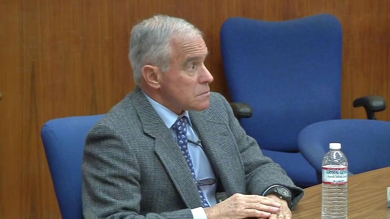 Dr. James Simon in court in 2015