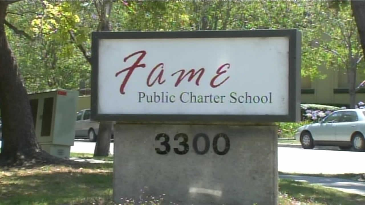 FILE - A sign of FAME charter school in the East Bay is seen in this undated image.