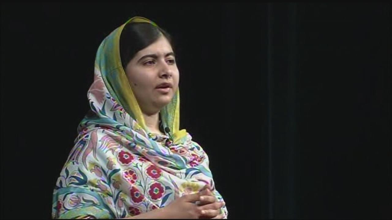 RAW: Malala Yousafzai spoke at San Jose State