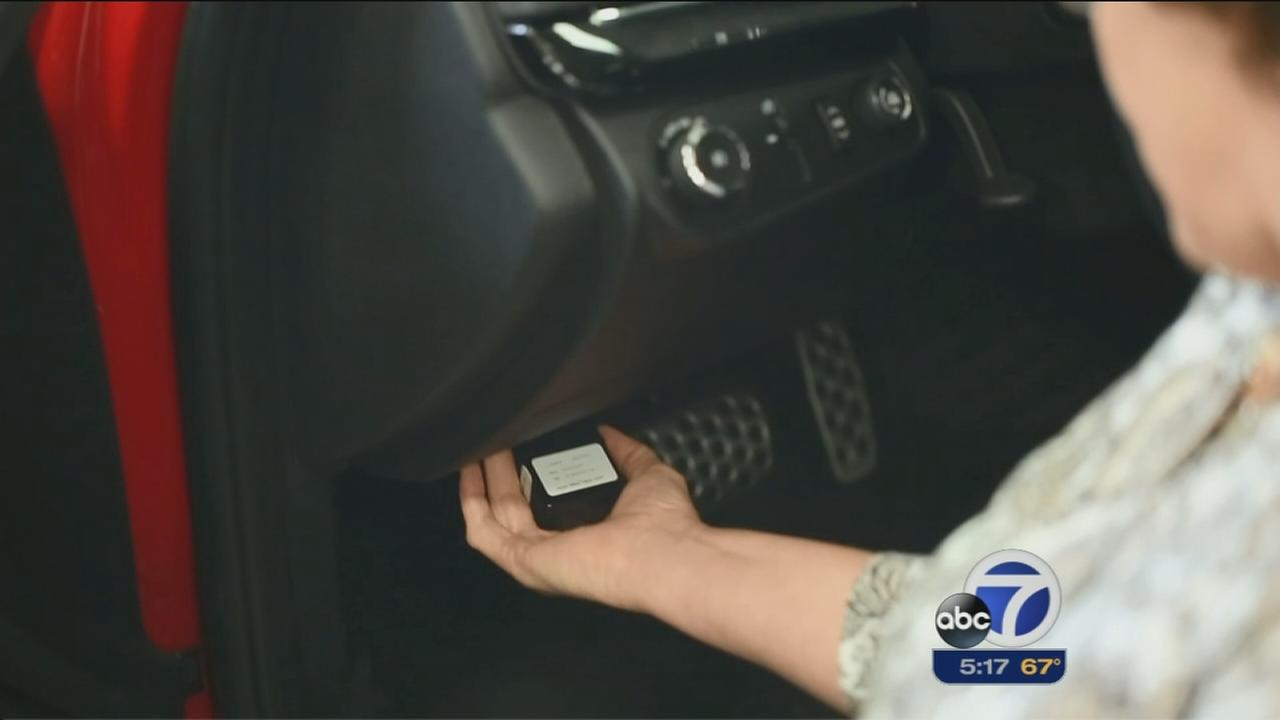 Technology can help calm parents nerves over new drivers