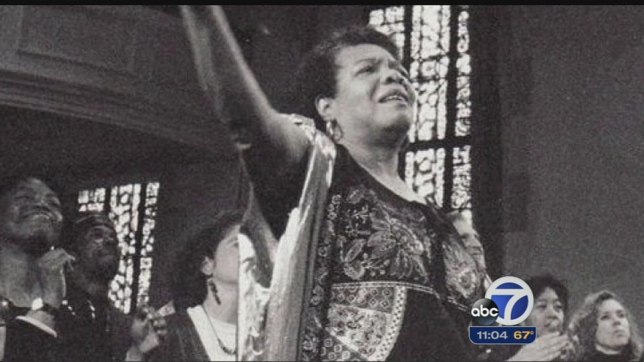 Maya Angelou had close connections to Bay Area