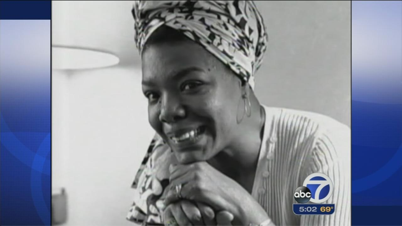 Bay Area mourns loss of poet, activist Maya Angelou