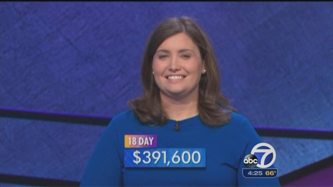 Woman attempts to tie Jeopardy record