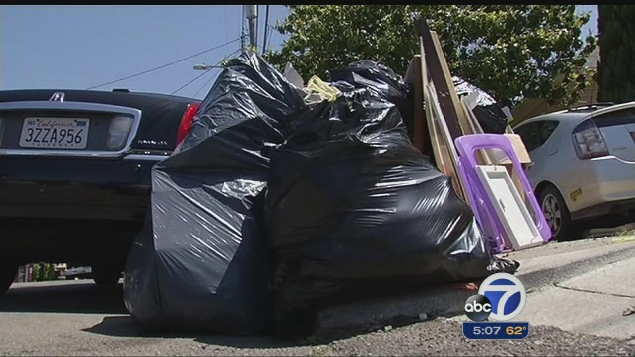 Garbage pick-ups in Oakland could cost more