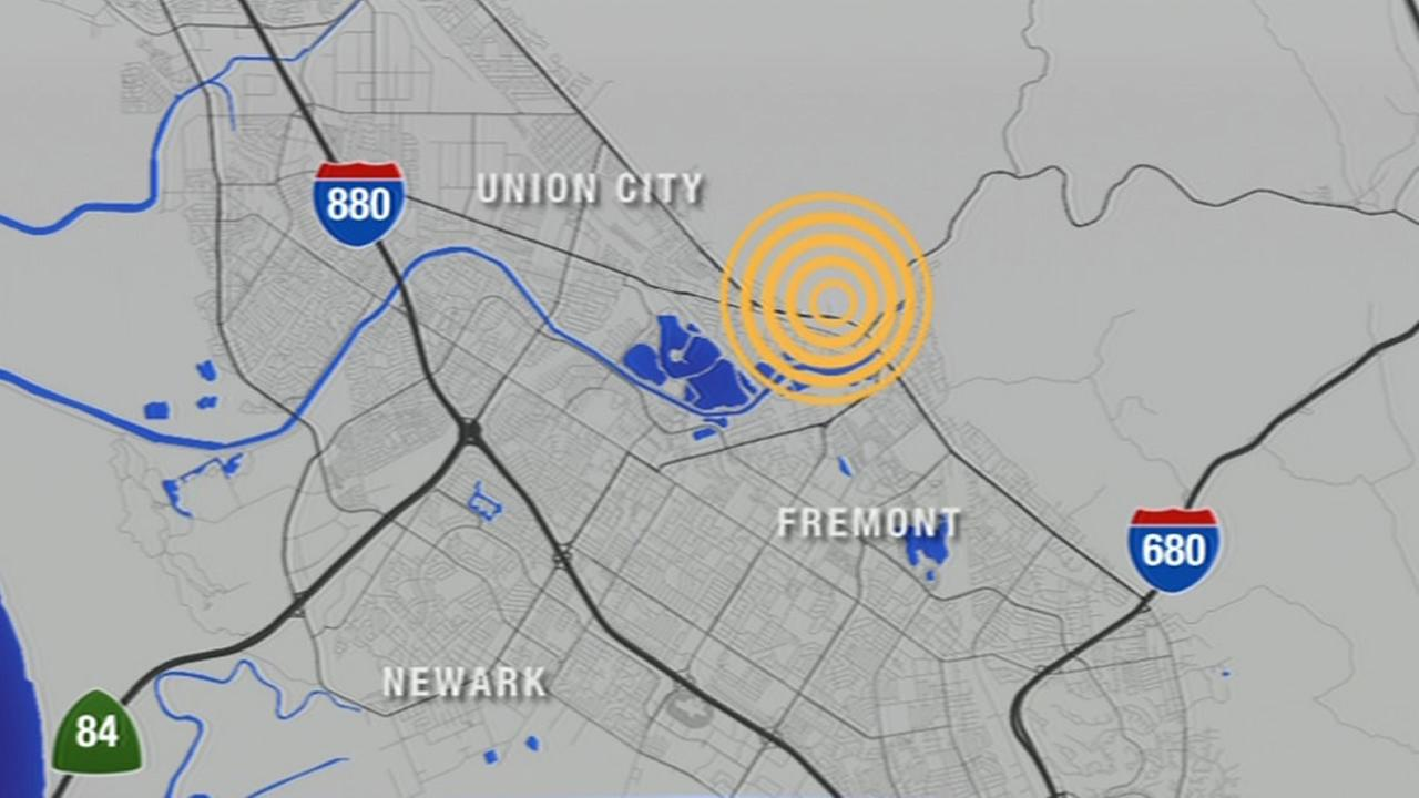 Many Bay Area residents had an early wake-up call Tuesday morning as a 4.0 earthquake hit two miles northeast of Fremont on July 21, 2015.
