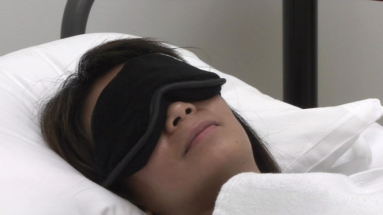 Bay Area researchers are testing a device that contains L.E.D. lights, which stimulate nerves in the brain that control body clocks, to help travelers beat jet lag.