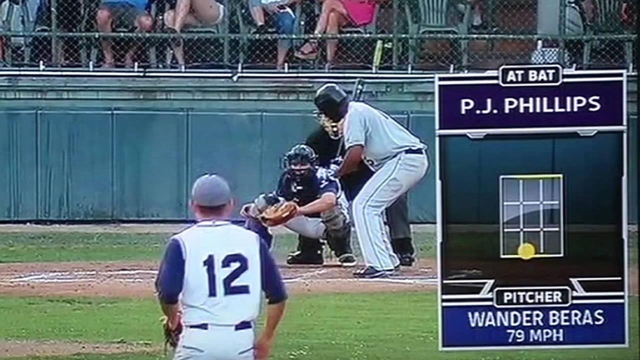 automated umpire used in a baseball game