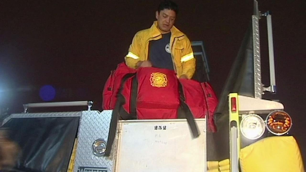 SFFD strike team packs up