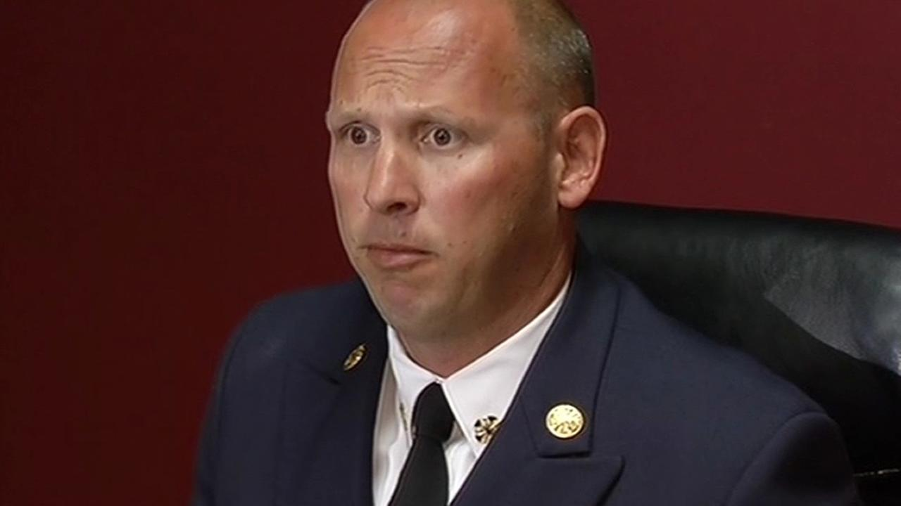 Hayward Fire Department Chief Garrett Contreras admits to drinking while on call and getting into a fight with a subordinate during an argument.