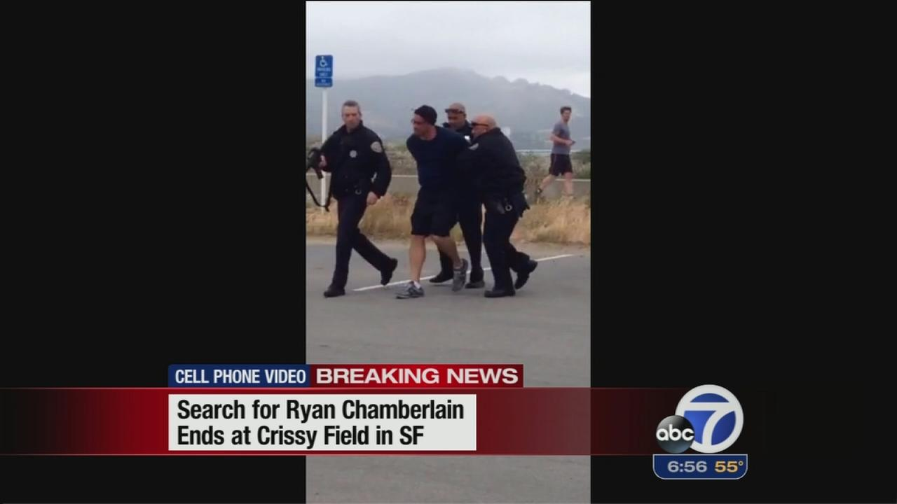 SF explosives suspect arrested at Crissy Field