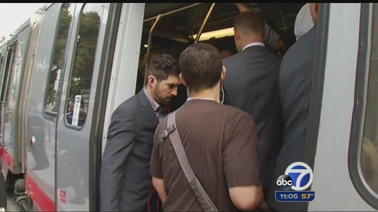 Muni labor battle takes toll on commuters