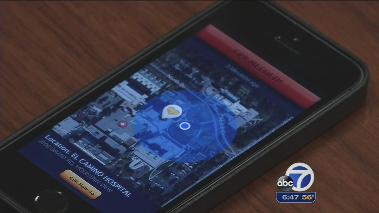 New app helps save heart attack victims lives