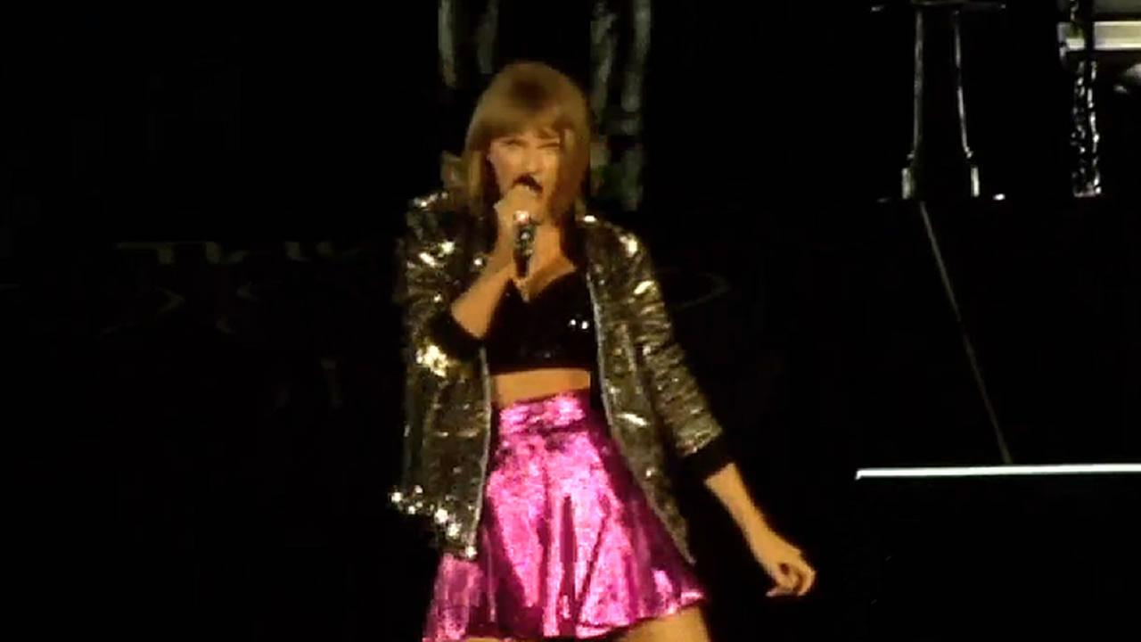 Taylor Swift in Santa Clara, Calif.
