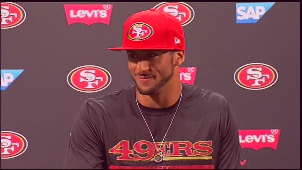 Kaepernick talks about contract extension