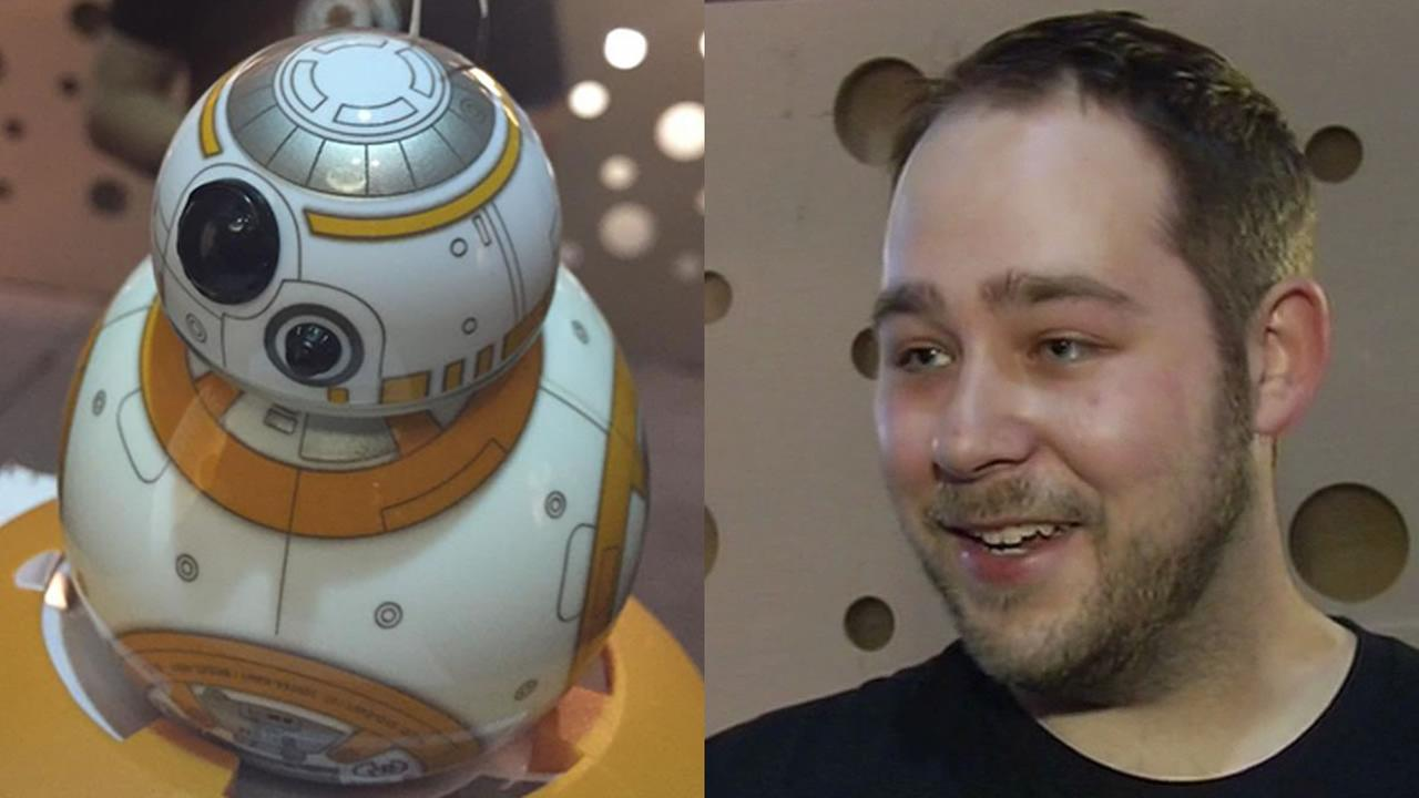 Star Wars BB-8 app-enabled Droid and Adam Wilson