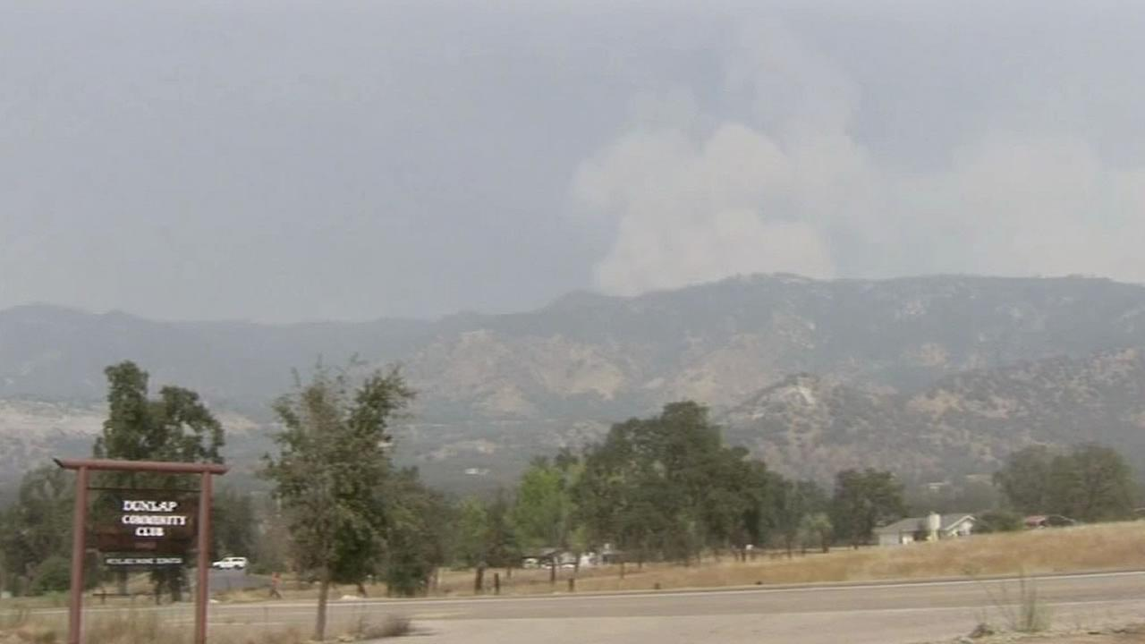 Rough Fire in Fresno County