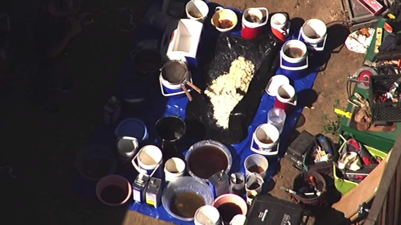 Federal officials are investigating after they raided a home in San Jose and discovered a meth lab on Friday morning.