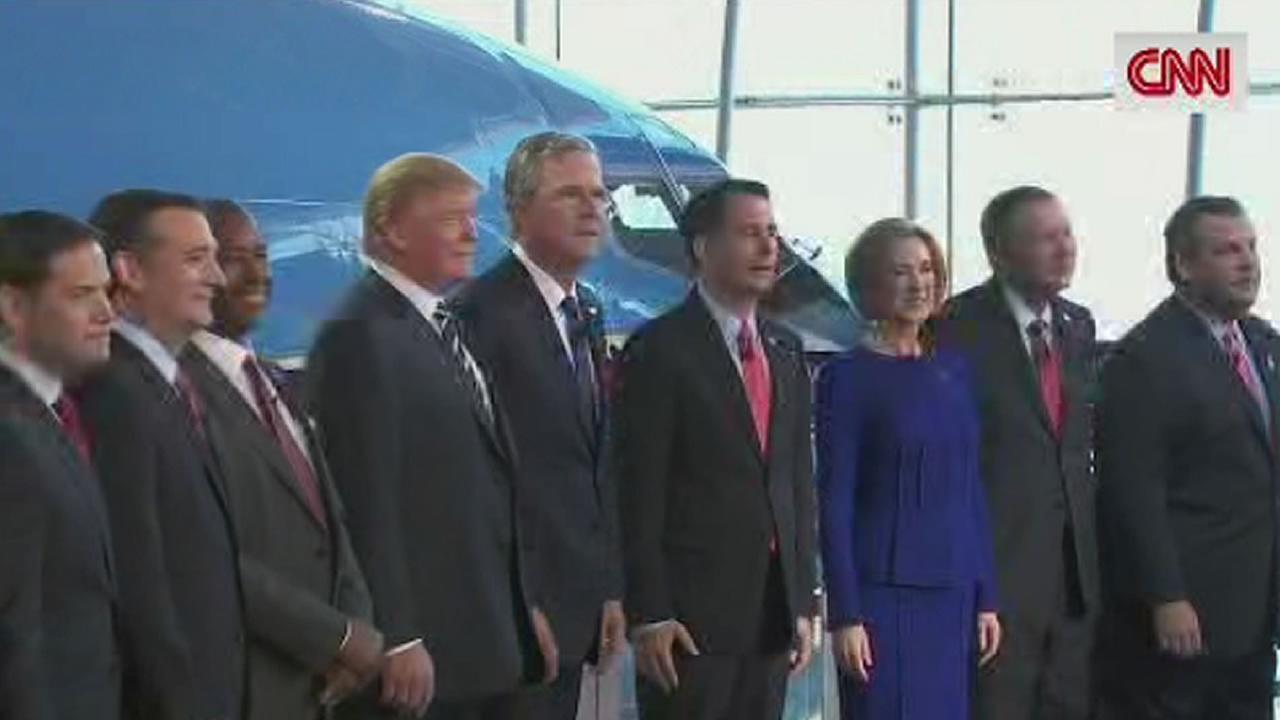 Republican presidential candidates on CNN