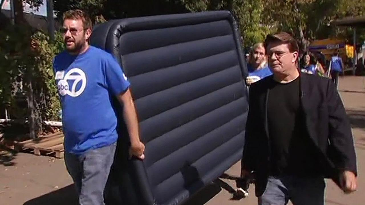 7 On Your Side delivers an air mattress