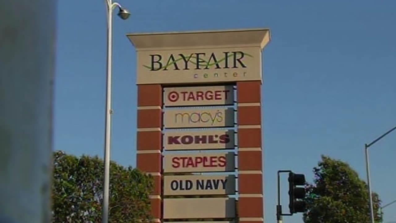 Bayfair BART station