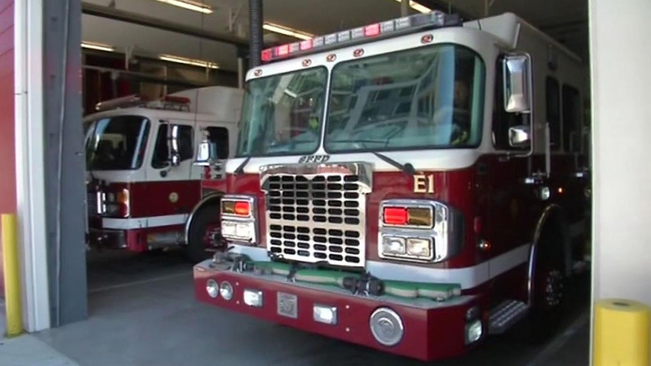 SFFD fire truck