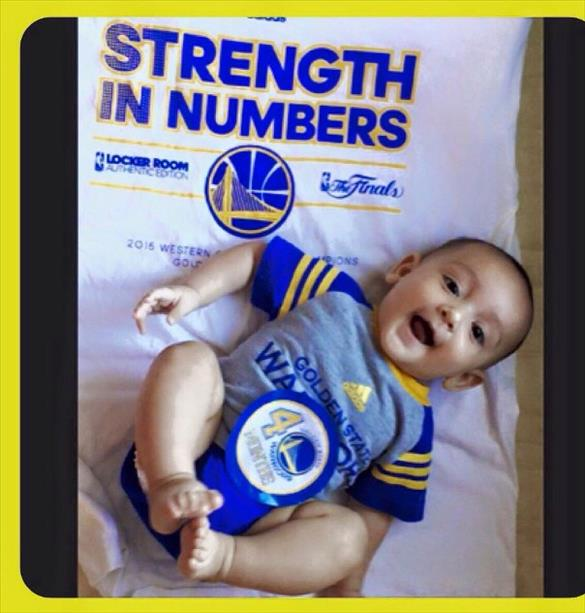 <div class='meta'><div class='origin-logo' data-origin='none'></div><span class='caption-text' data-credit='Photo submitted to KGO-TV via uReport'>This little guy is hoping for a Game 6 win on his 4 month birthday! Tag photos on Twitter, Instagram, Facebook or Google Plus using #DubsOn7.</span></div>