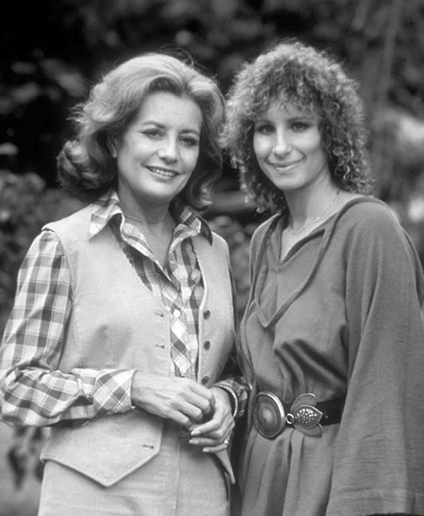 Barbara Walters interviewed Barbra Streisand for the first Barbara Walters Special, December 14, 1976, which aired on the ABC Television Network.  <span class=meta>(ABC PHOTO ARCHIVES)</span>