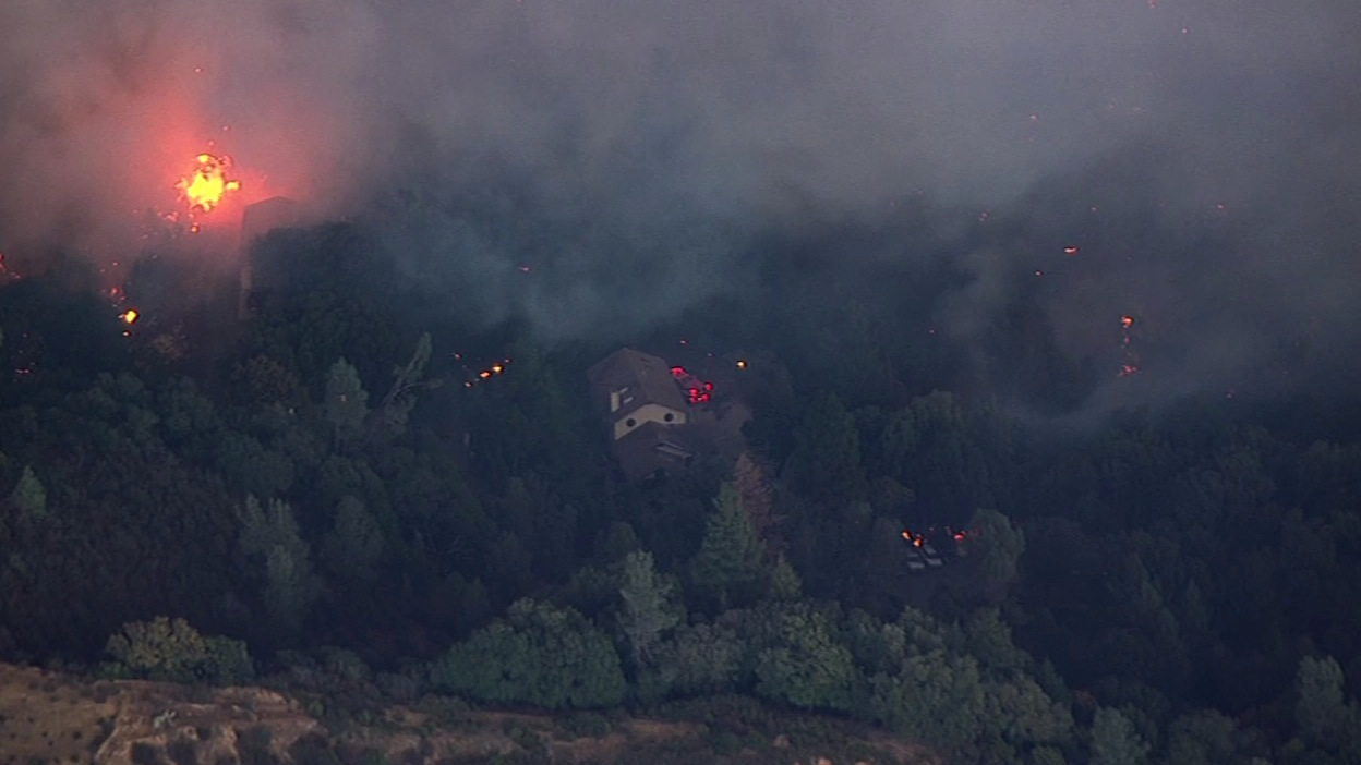<div class='meta'><div class='origin-logo' data-origin='none'></div><span class='caption-text' data-credit='KGO-TV'>The Valley Fire in Lake County, Calif., burned thousands of acres on Saturday, September, 12, 2015.</span></div>