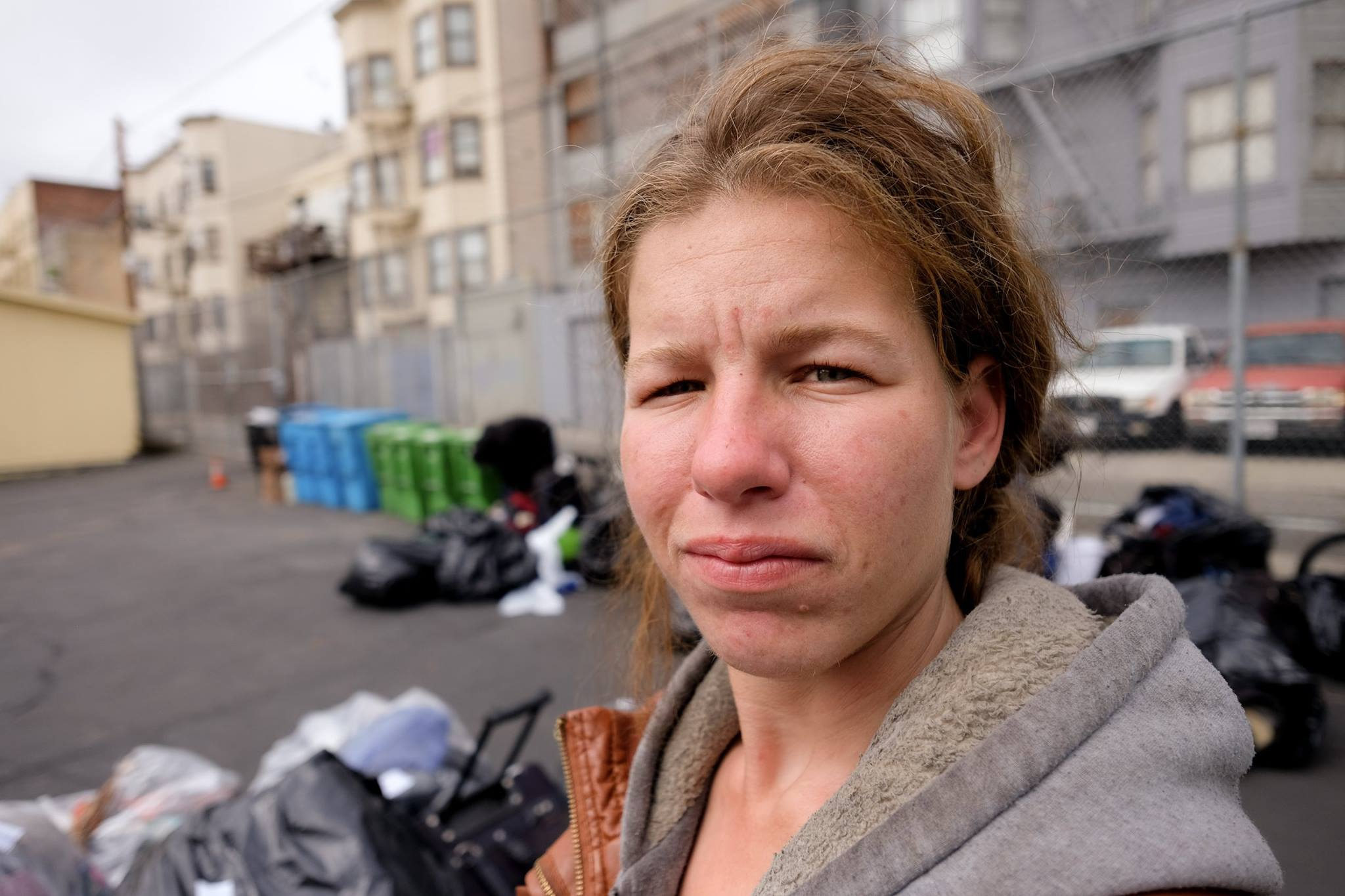 <div class='meta'><div class='origin-logo' data-origin='none'></div><span class='caption-text' data-credit='KGO-TV/Wayne Freedman'>A team from San Francisco's Navigation Center lulled Corry off the streets and helped get her the services she needed.</span></div>
