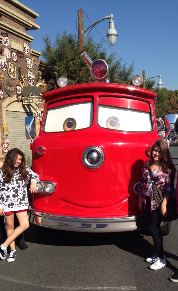 <div class='meta'><div class='origin-logo' data-origin='none'></div><span class='caption-text' data-credit='Rhonda Holland-Ferreira/Facebook'>Everyone loves &#34;Cars&#34;! ABC7 News viewers and staff are celebrating Disneyland's 60 years of magic by sharing photos of themselves at the park.</span></div>