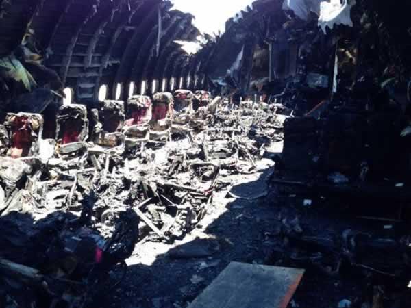 <div class='meta'><div class='origin-logo' data-origin='none'></div><span class='caption-text' data-credit='NTSB/Twitter'>Photo of charred cabin interior of Asiana flight 214.</span></div>