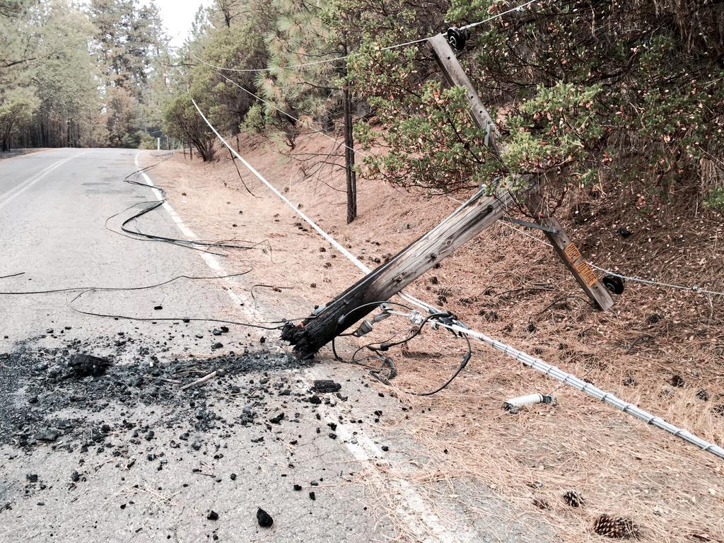 <div class='meta'><div class='origin-logo' data-origin='none'></div><span class='caption-text' data-credit='KGO-TV'>This is just one piece of damaged infrastructure in the wake of the Valley Fire on Tuesday, September 15, 2015.</span></div>
