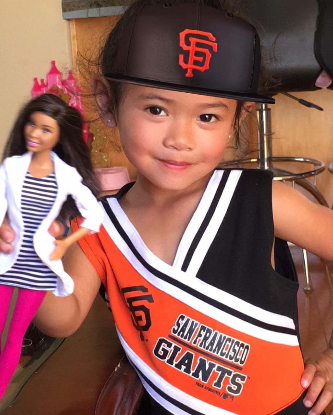 <div class='meta'><div class='origin-logo' data-origin='none'></div><span class='caption-text' data-credit='Photo submitted to KGO-TV by @jordanticzon/Instagram'>ABC7 viewers are showing off their San Francisco Giants fan pride. Share yours by tagging them #abc7now!</span></div>