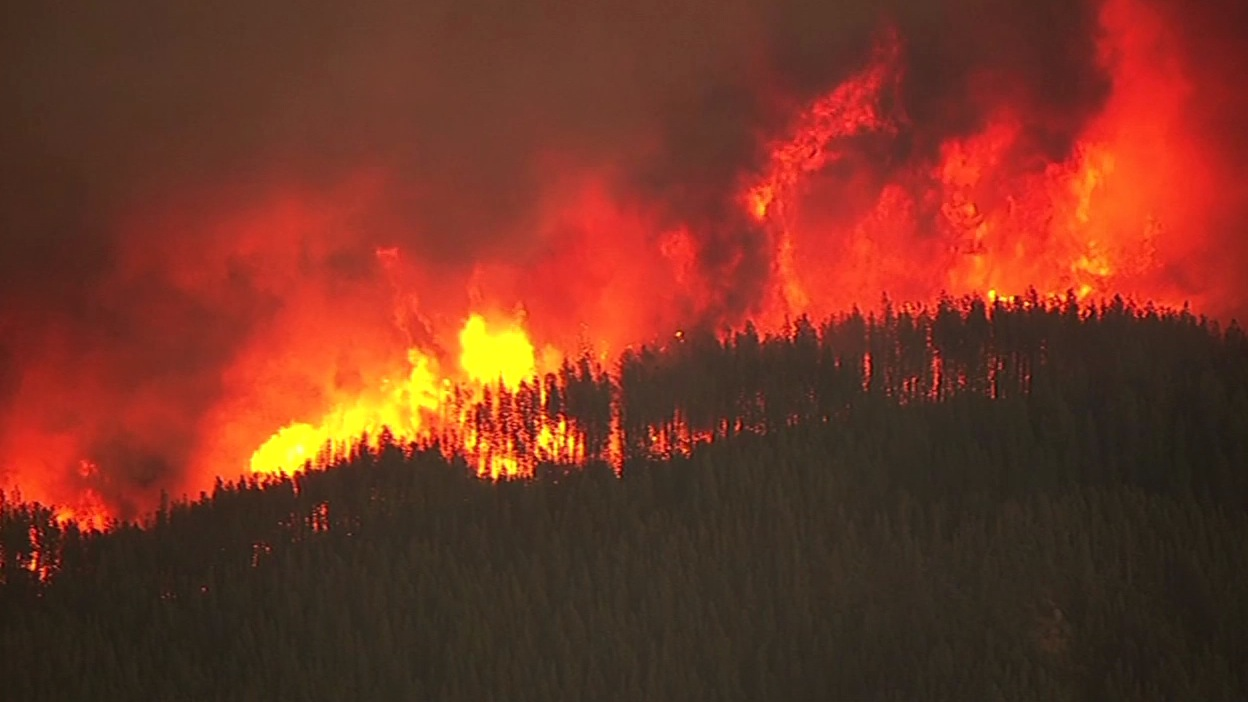 <div class='meta'><div class='origin-logo' data-origin='none'></div><span class='caption-text' data-credit='KGO-TV'>The Valley Fire in Lake County, Calif. burned thousands of acres on Sunday, September 13, 2015.</span></div>