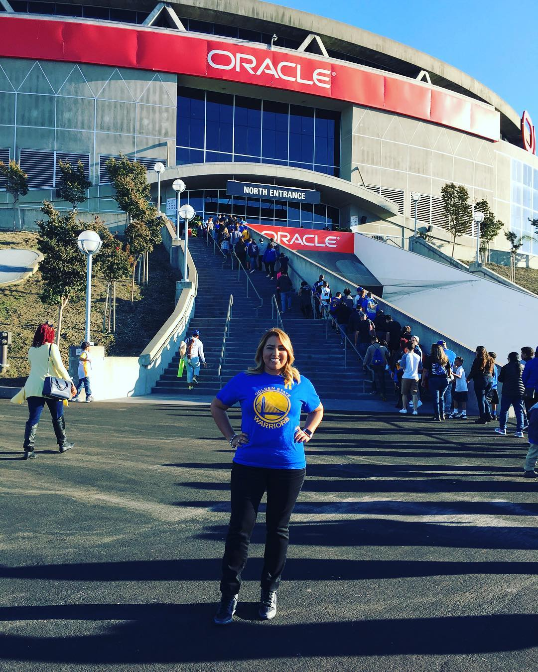 <div class='meta'><div class='origin-logo' data-origin='none'></div><span class='caption-text' data-credit='@pinkpanthergolf/Instagram'>Warriors fans are showing their Golden State pride by sending their photos to ABC7 with #DubsOn7. Go Warriors!</span></div>