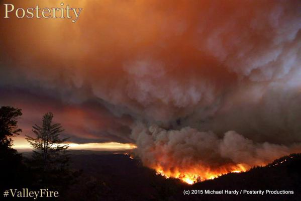 "<div class=""meta image-caption""><div class=""origin-logo origin-image none""><span>none</span></div><span class=""caption-text"">The Valley Fire in Lake County, Calif., burned thousands of acres on Saturday, September, 12, 2015.  (Photo submitted to KGO-TV by Mike Hardy at Posterity Productions/Twitter)</span></div>"